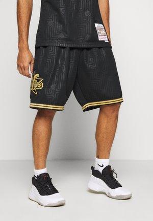 NBA PHILADELPHIA 76ERS SWINGMAN SHORT - Krótkie spodenki sportowe - black