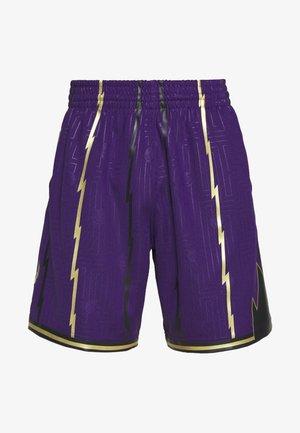 NBA TORONTO RAPTORS SWINGMAN SHORT - Korte broeken - purple