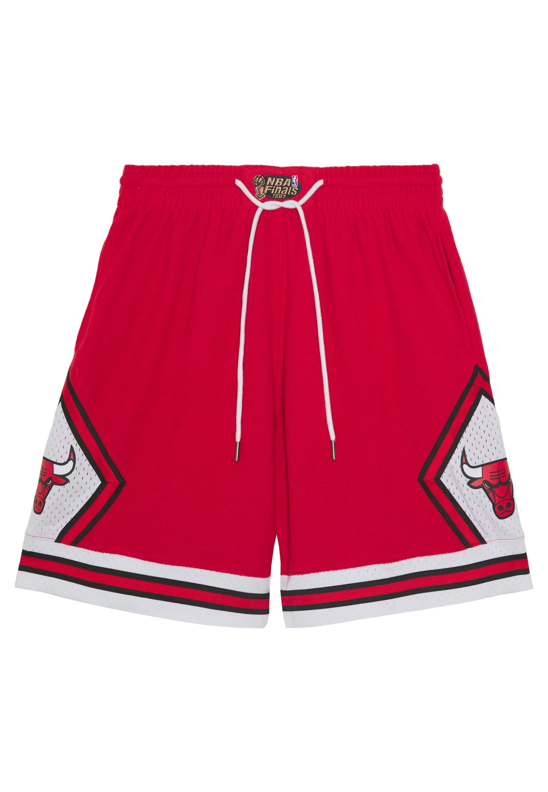 NBA CHICAGO BULLS WARM UP SHORT BULLS Short de sport red