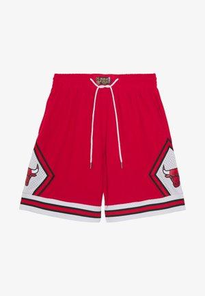 NBA CHICAGO BULLS WARM UP SHORT BULLS - Korte broeken - red