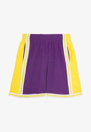 NBA LA LAKERS WARM UP SHORT LAKERS - Korte sportsbukser - purple
