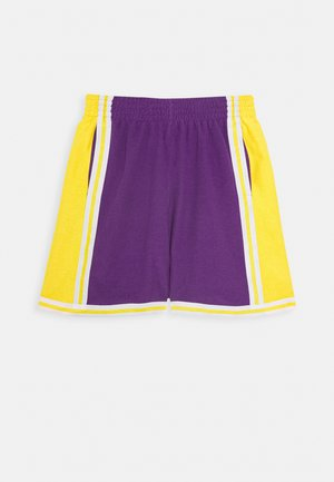 NBA LA LAKERS WARM UP SHORT LAKERS - Sports shorts - purple