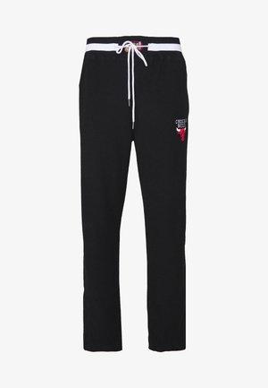NBA CHICAGO BULLS REVERSED TEARWAY PANT - Klubové oblečení - black