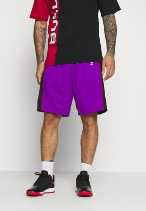 NBA TORONTO RAPTORS SWINGMAN SHORTS - Korte broeken - purple/black