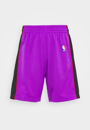 NBA TORONTO RAPTORS SWINGMAN SHORTS - Sports shorts - purple/black
