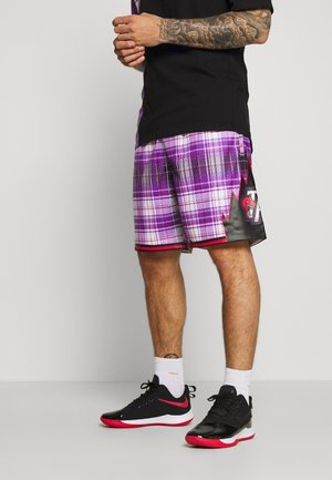 NBA TORONTO RAPTORS PRIVATE SCHOOL SWINGMAN - kurze Sporthose - purple