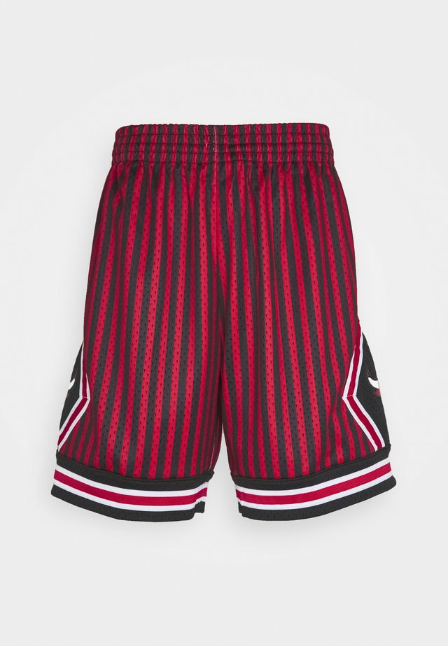 NBA CHICAGO BULLS STRIPED SWINGMAN SHORT - Pantaloncini sportivi - red