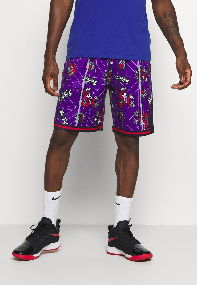 NBA TORONTO RAPTORS TEAR UP PACK SWINGMAN - Pantaloncini sportivi - purple