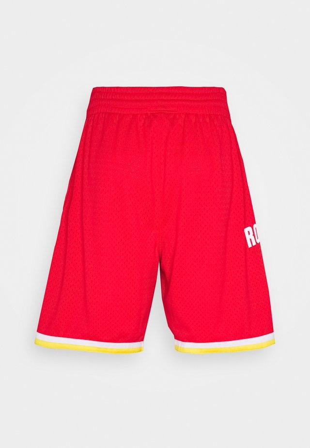 NBA SWINGMAN SHORT ROCKETS - Sportovní kraťasy - red