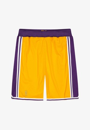 NBA AUTHENTIC  - Sports shorts - yellow