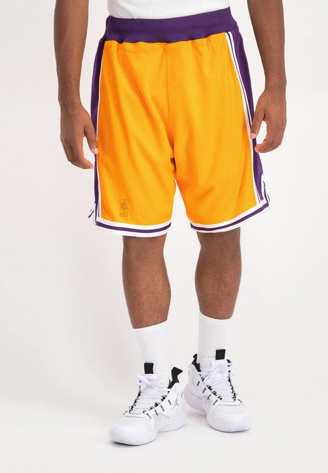 NBA AUTHENTIC  - Korte broeken - yellow