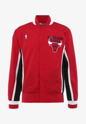 CHICAGO BULLS NBA AUTHENTIC WARM UP JACKETS - Kurtka sportowa - red
