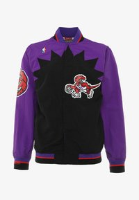 Mitchell & Ness - TORONTO RAPTORS NBA  - Sportovní bunda - black/ purple - 3