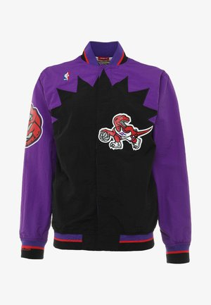 TORONTO RAPTORS NBA  - Verryttelytakki - black/ purple