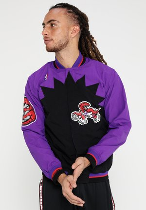TORONTO RAPTORS NBA  - Veste de survêtement - black/ purple