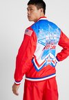 Mitchell & Ness - NBA ALL STAR EAST 1991 WARM UP JACKET - Trainingsjacke - red