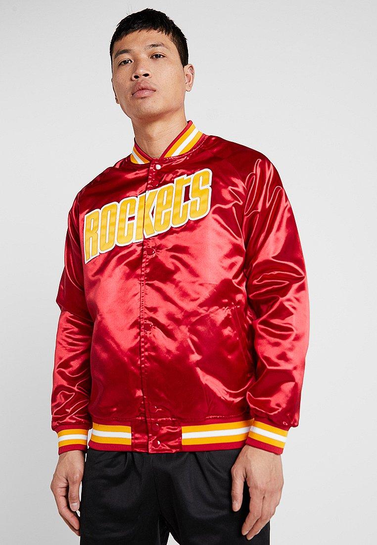 Mitchell & Ness - NBA HOUSTON ROCKETS LIGHTWEIGHT JACKET - Vereinsmannschaften - red