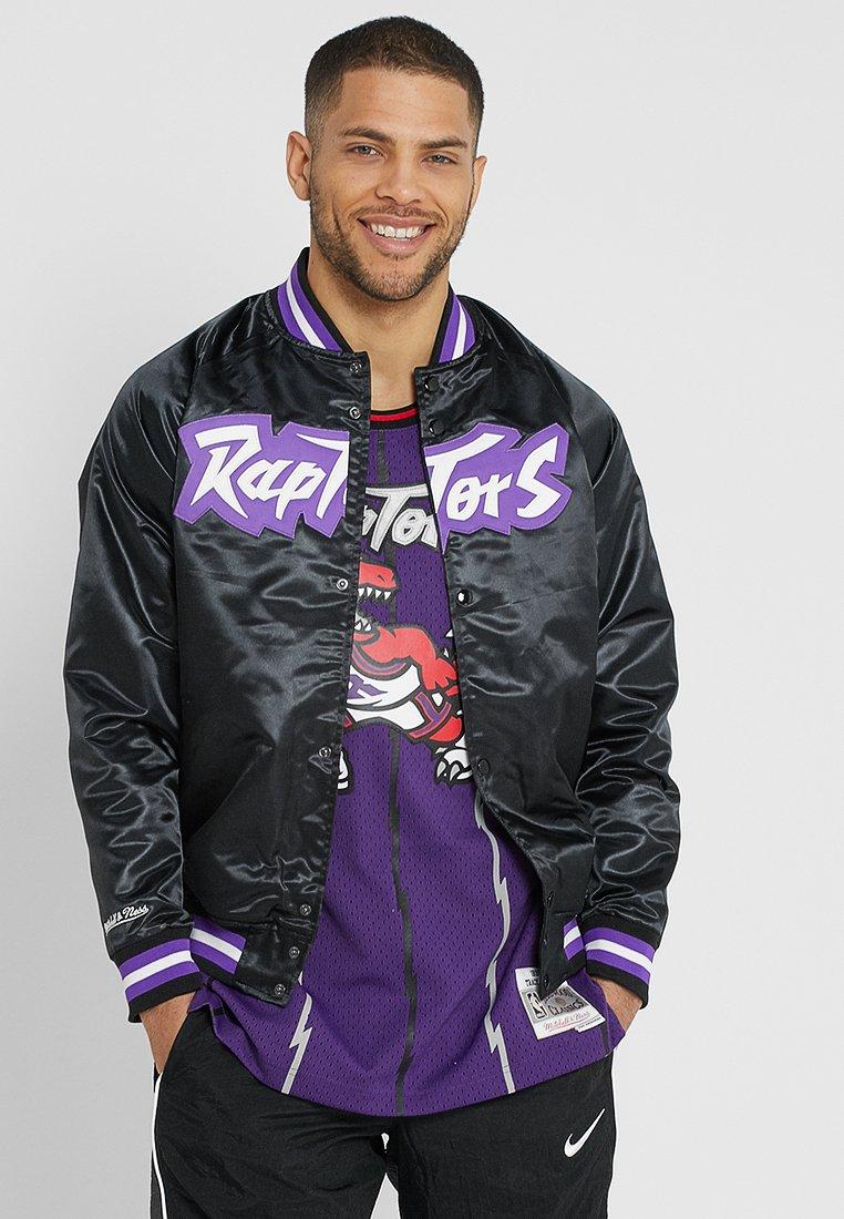 Mitchell & Ness - NBA TORONTO RAPTORS LIGHTWEIGHT JACKET - Club wear - black