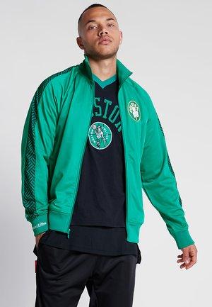NBA BOSTON CELTICS TRACK JACKET - Club wear - green