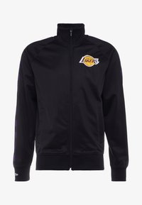 Mitchell & Ness - NBA LA LAKERS TRACK JACKET - Veste de survêtement - black - 4