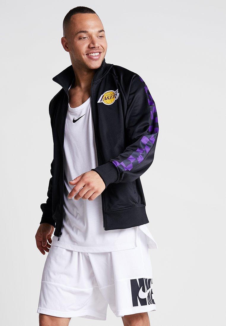 Mitchell & Ness - NBA LA LAKERS TRACK JACKET - Verryttelytakki - black
