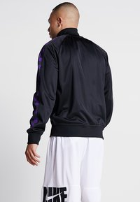 Mitchell & Ness - NBA LA LAKERS TRACK JACKET - Veste de survêtement - black - 2