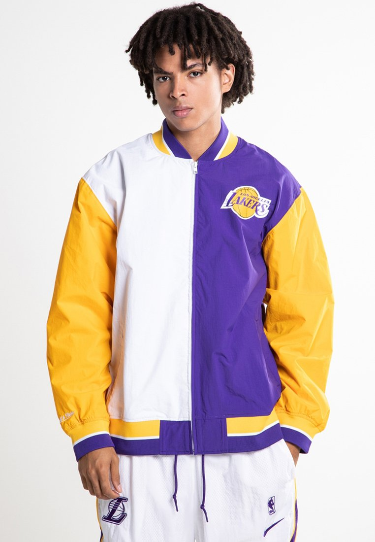 Mitchell & Ness - Club wear - purple/yellow