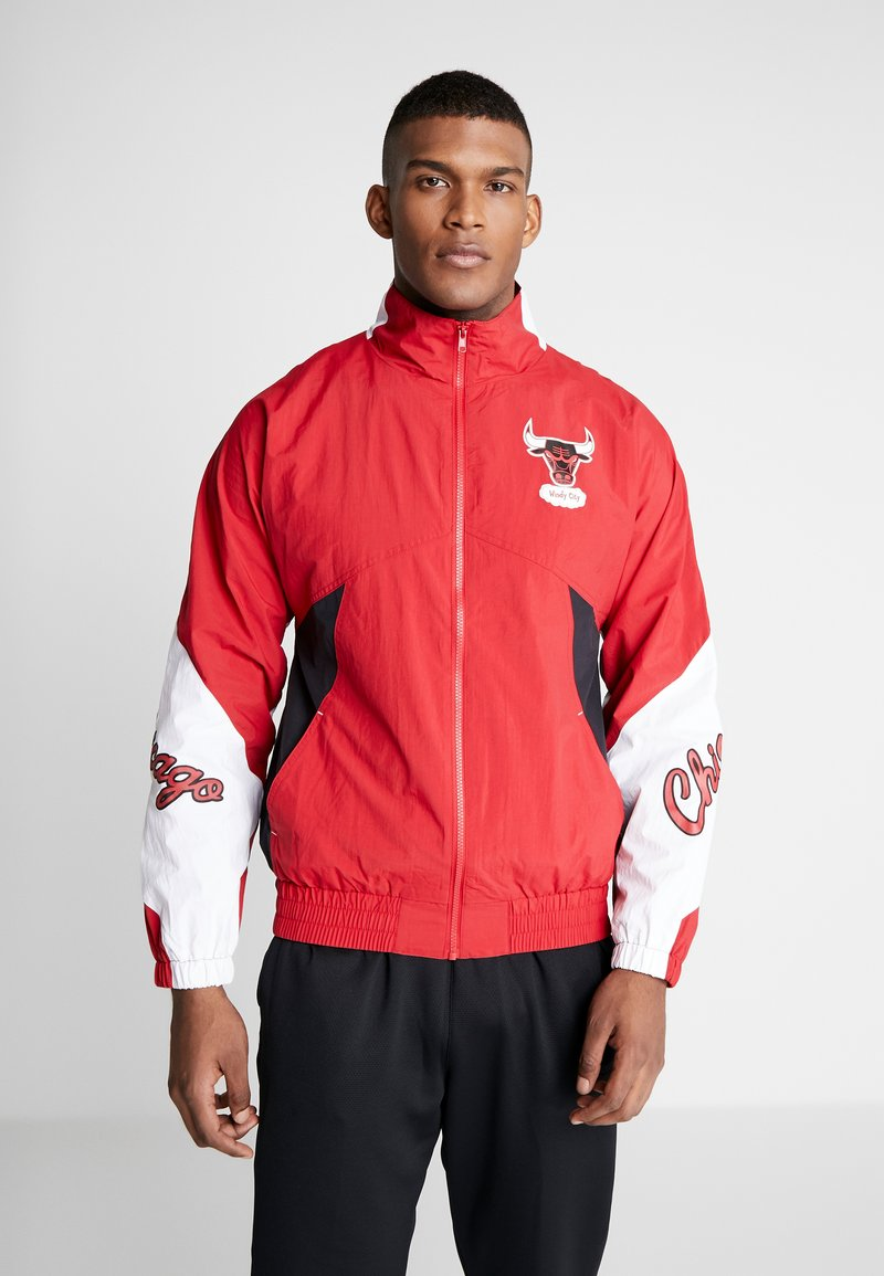 Mitchell & Ness - NBA CHICAGO BULLS MIDSEASON - Veste de survêtement - red