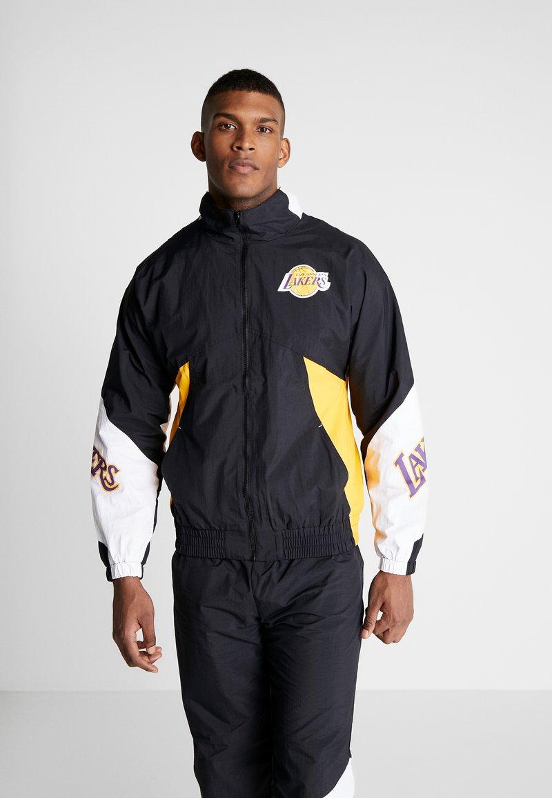 Mitchell & Ness - NBA LA LAKERS MIDSEASON - Veste de survêtement - black