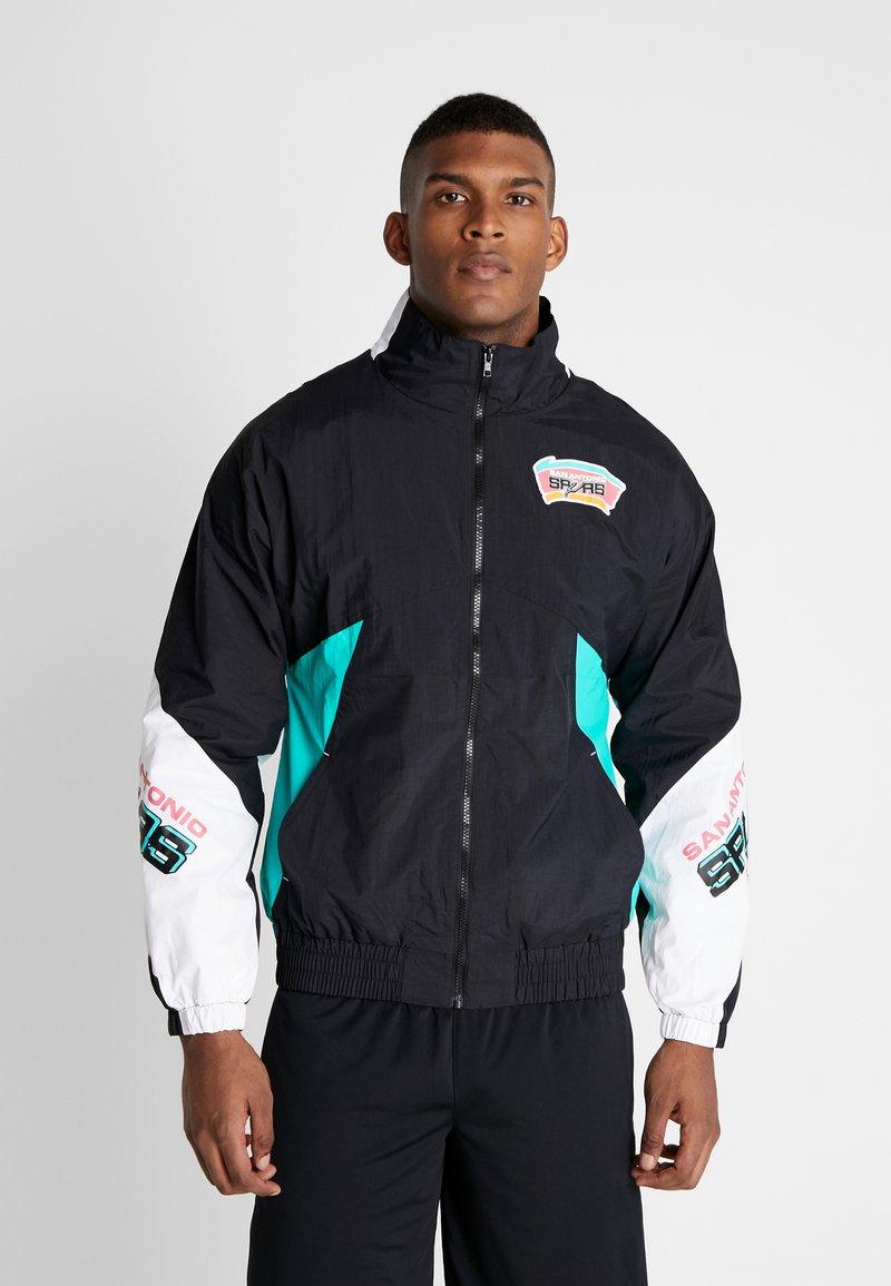 Mitchell & Ness - NBA SAN ANTONIO SPURS MIDSEASON - Trainingsvest - black