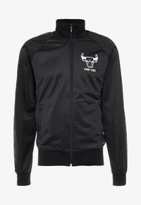 Mitchell & Ness - NBA CHICAGO BULLS TRACK JACKET - Pelipaita - black