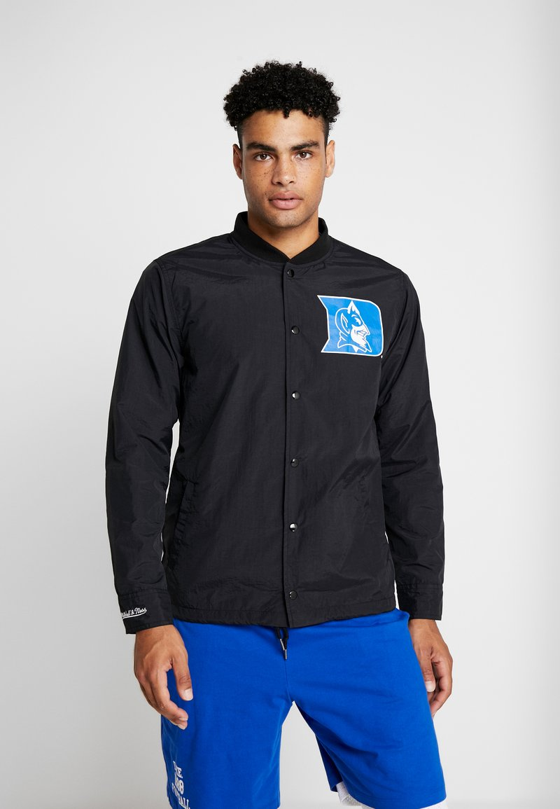 Mitchell & Ness - DUKE BLUE DEVILS COACHES JACKET - Training jacket - black