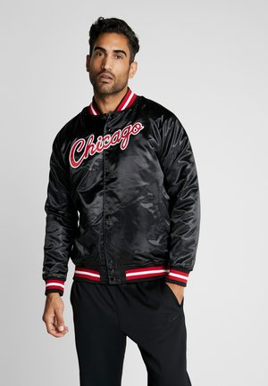 NBA CHICAGO BULLS LIGHTWEIGHT JACKET - Club wear - black