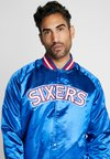 Mitchell & Ness - NBA PHILADELPHIA 76ERS LIGHTWEIGHT JACKET - Trainingsjacke - royal
