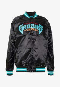 Mitchell & Ness - NBA VANCOUVER GRIZZLIES LIGHTWEIGHT JACKET - Article de supporter - black - 4