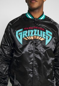 Mitchell & Ness - NBA VANCOUVER GRIZZLIES LIGHTWEIGHT JACKET - Article de supporter - black - 5