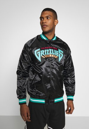 NBA VANCOUVER GRIZZLIES LIGHTWEIGHT JACKET - Article de supporter - black