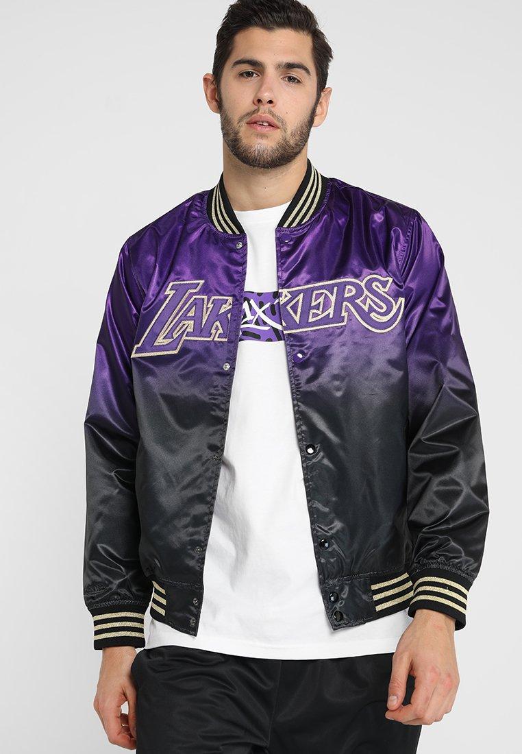 Mitchell & Ness - NBA LA LAKERS CHINESE NEW YEAR JACKET - Squadra - purple