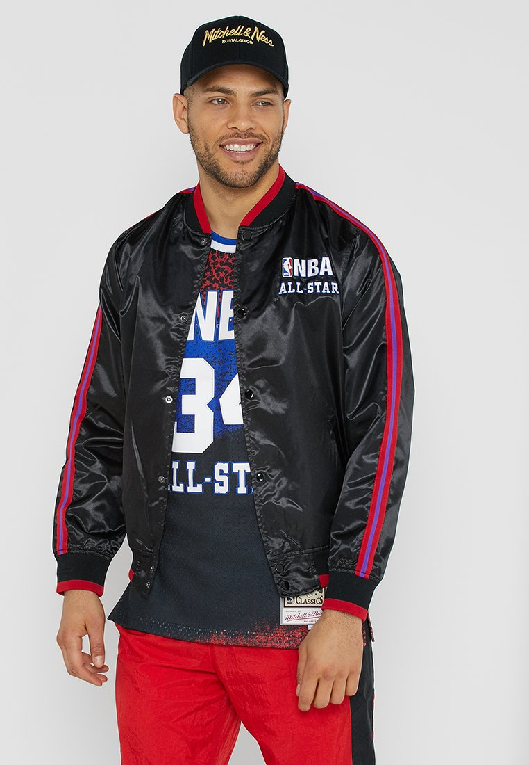 Mitchell & Ness - NBA FASHION JACKET - Træningsjakker - black