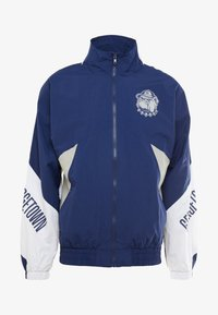 Mitchell & Ness - GEORGETOWN MID SEASON  - Veste coupe-vent - navy/sand - 3