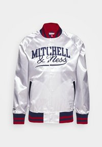 Mitchell & Ness - Sportovní bunda - white - 6