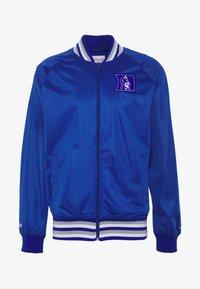 Mitchell & Ness - NCAA DUKE BLUE DEVILS TRACK JACKET - Klubové oblečení - royal - 5