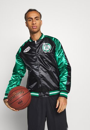 NBA BOSTON CELTICS COLOR BLOCKED JACKET - Pelipaita - black