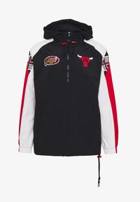Mitchell & Ness - NBA CHICAGO BULLS HALF ZIP ANORAK - Article de supporter - black - 4