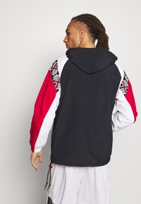 Mitchell & Ness - NBA CHICAGO BULLS HALF ZIP ANORAK - Article de supporter - black - 2