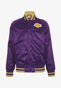 Mitchell & Ness - NBA LA LAKERS JACKET - Squadra - purple - 4