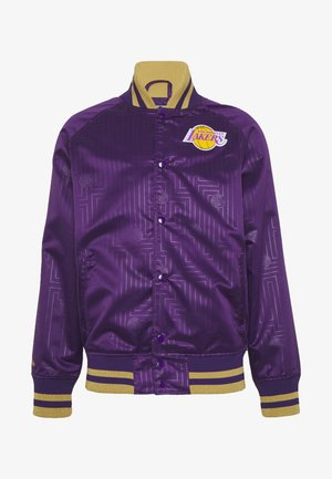 NBA LA LAKERS JACKET - Fanartikel - purple