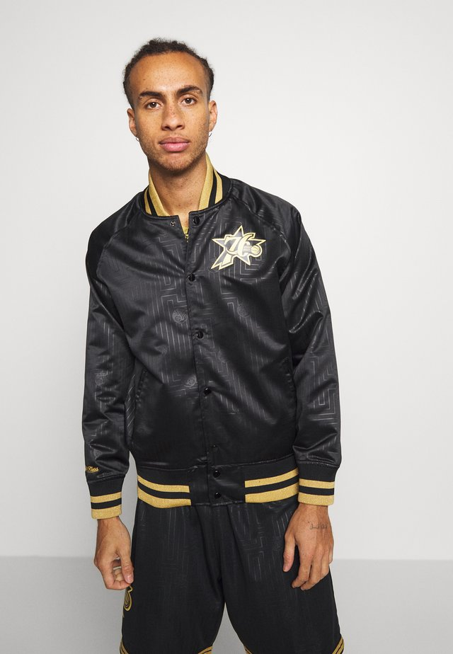 NBA PHILADELPHIA 76ERS JACKET - Pelipaita - black