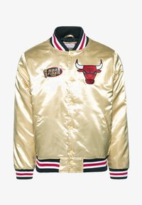 Mitchell & Ness - NBA CHICAGO BULLS CHAMPIONSHIP GAME JACKET - Article de supporter - beige - 4