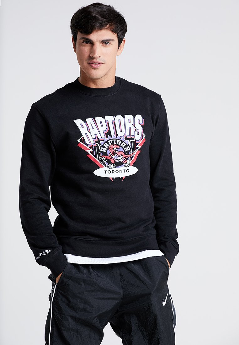 Mitchell & Ness - NBA TORONTO RAPTORS TEAM - Sweatshirt - black